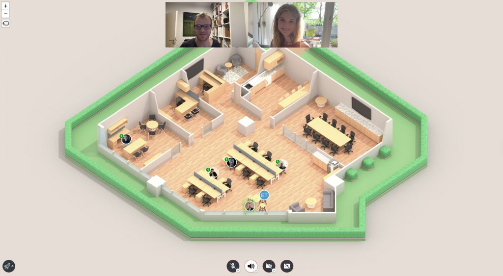 Fastoffice virtual office space by Welo