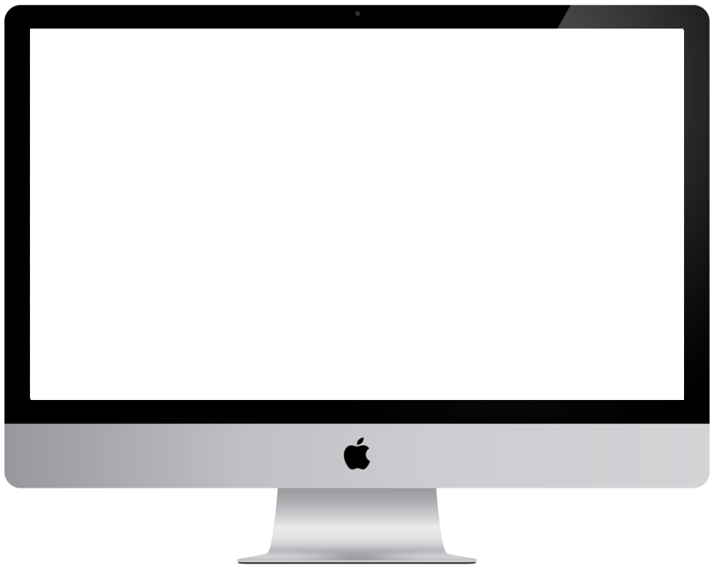 simple image of an iMac computer